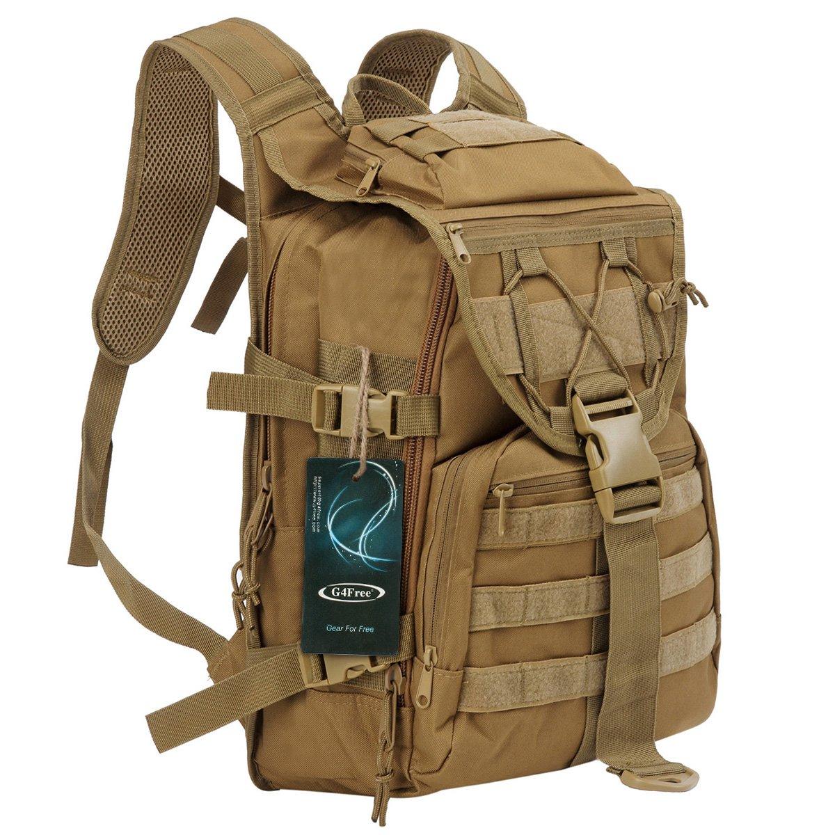 G4Free 20L Tactical Assault Molle extérieure Voyager Camping Randonnée Trekking Sac à dos Sac à dos Sacs