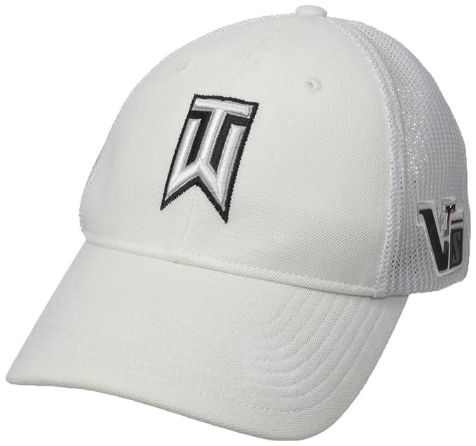 b0d676316 Amazon.com : Nike Men's TW Tour Legacy Mesh Cap, White Large/X-Large ...