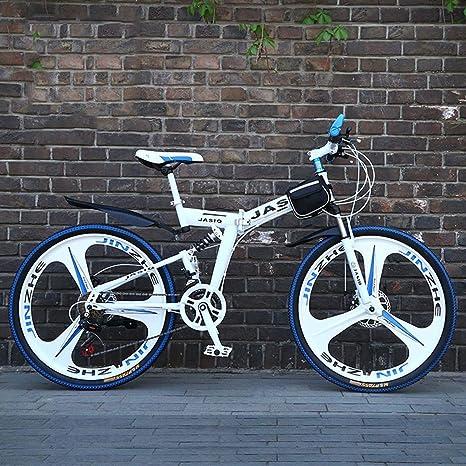 WZB Bicicleta de montaña Plegable con 26