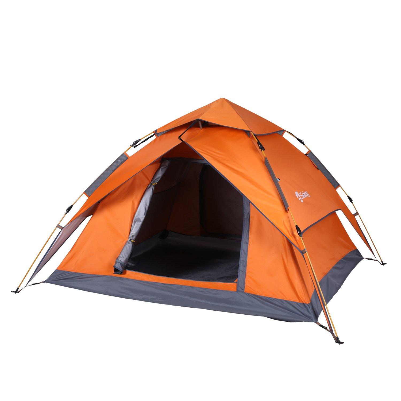 sekey automático camping tienda hidráulico, impermeable Tiendas de campaña exteriores plegable, tres de estaciones de Familias de Dome - Tienda de campaña ...