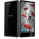 DOOGEE Mix Smartphone 4G Android 7.0 (Helio P25 Octa Core 2.5GHz , 5.5'' IPS HD Schermo, 6GB RAM 64GB ROM, 5MP+8MP+13MP Camera, Fingerprint ID, Dual SIM, 3380mAh Batteria, Carica rapida, Smart Wake, Gesti intelligenti, Modalità di risparmio energetico) Nero