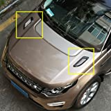 Toma de motor coche de coche para Land Range Rover Evoque Vogue/para Freelander2/para Discovery 4/para Discovery Sport accesorios 2pcs