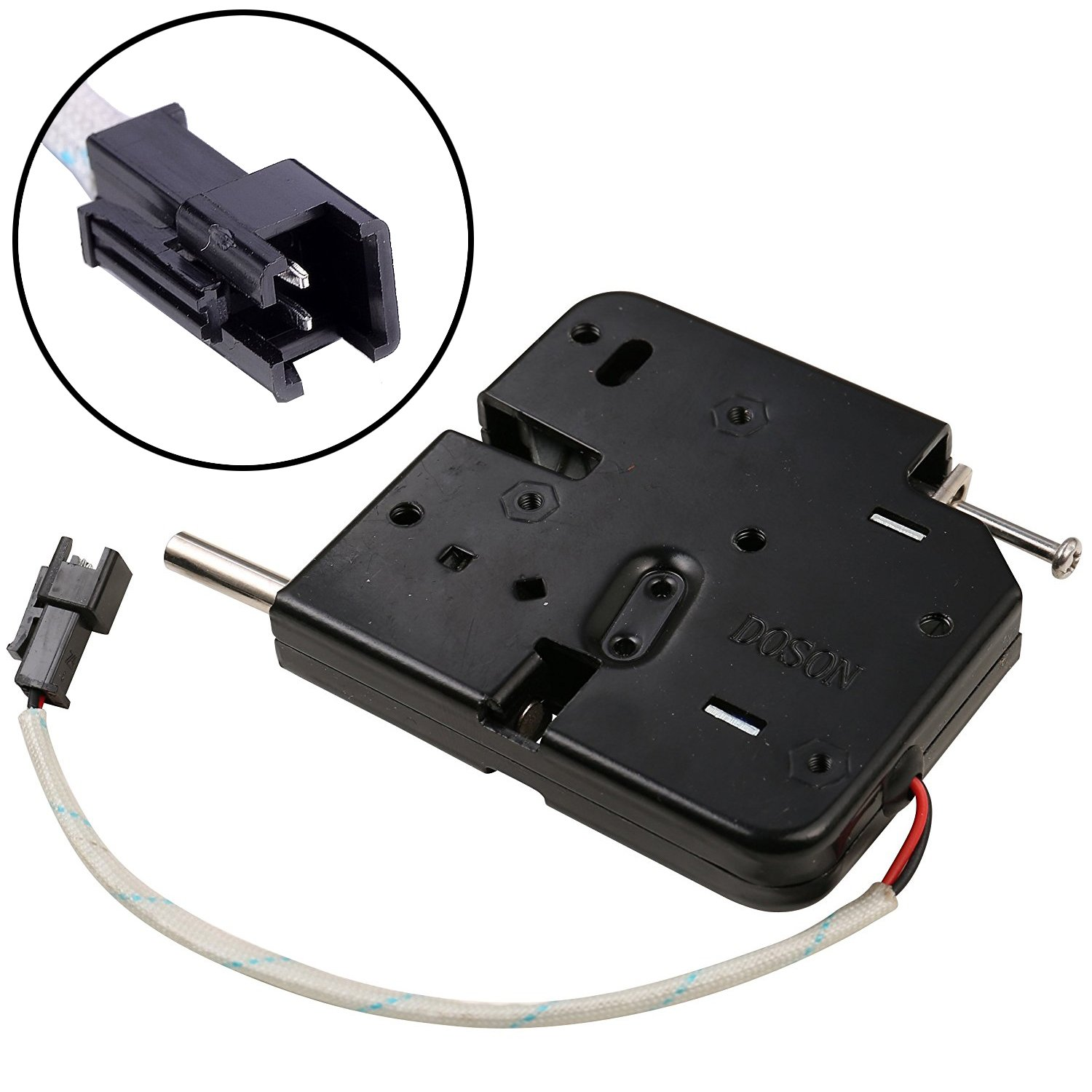 UHPPOTE DC12V Intelligent Electric Solenoid Lock For Automatic Drawer Cabinet Sell-machine Door by UHPPOTE (Image #5)