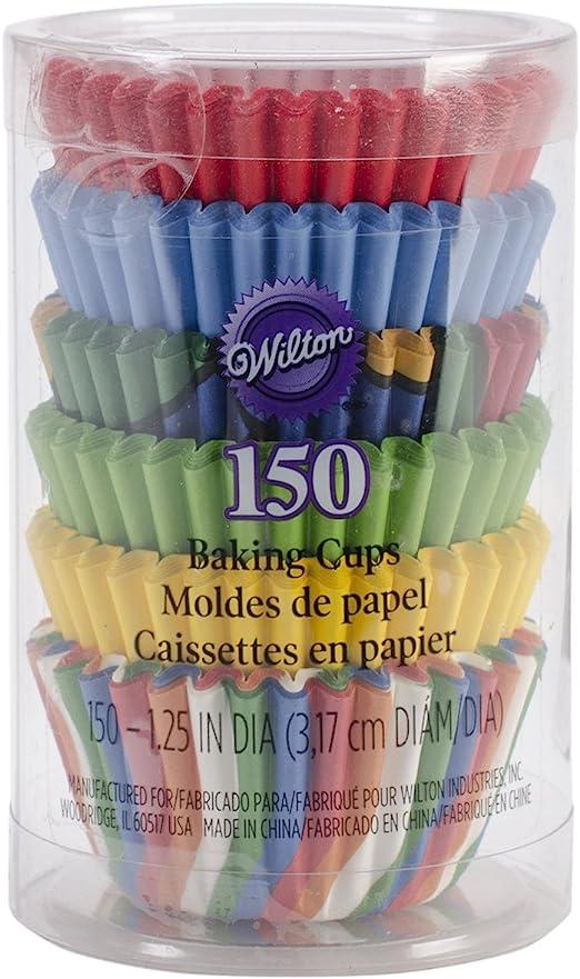 Mini Baking Cups-Pinks 150//Pkg