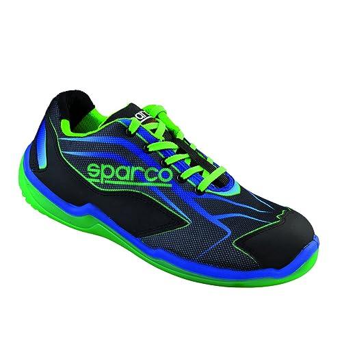 New Sparco 2015 16 S1P - Zapatos de seguridad para hombre (tallas 40 ... c1419d14db2