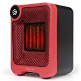 Amazon Price History for:Personal Mini Heater, PTC Ceramic Heater, Portable Cubic Space Warmer for Home and Office, Indoor Desktop Heater, Heating Fast, Automatic Overheat and Tip-over Protection for Safety, 500 Watts Heater