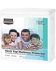 Utopia Bedding Protector de colchón Impermeable hipoalergénico Premium - Sin Vinilo - Funda de colchón Equipada
