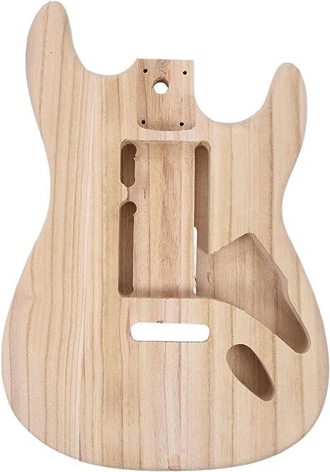 Cuerpo de guitarra eléctrica de madera de arce, tipo Stratocaster ...