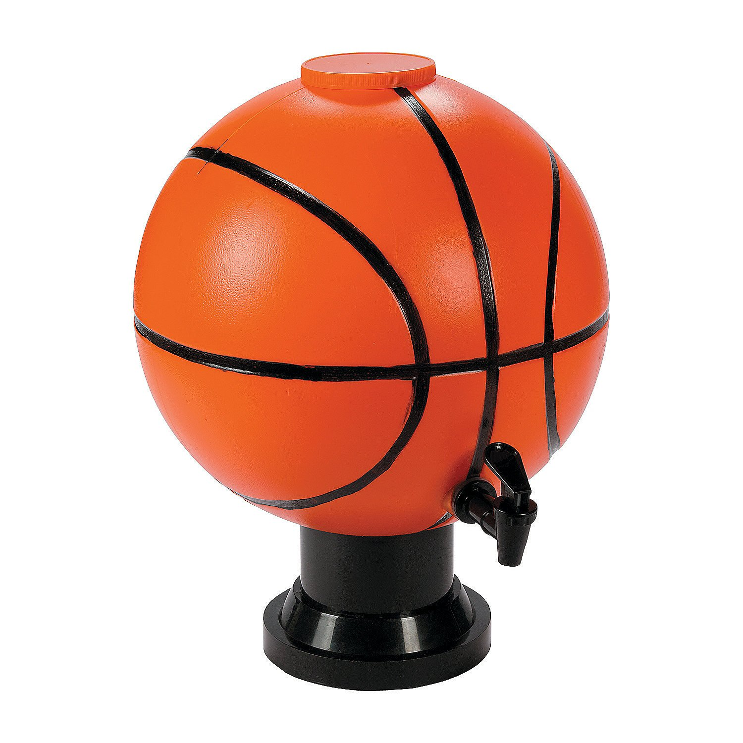 Basketball Drink Dispenser (holds 3 gallons) Sports Party Supplies by Fun Express