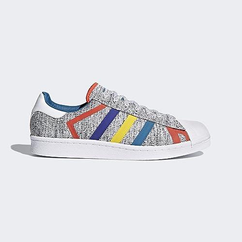 Adidas Superstar WM, Zapatillas de Deporte para Niños, (BR Gr Cl/Azcere/Ftwbla 000), 36 2/3 EU: Amazon.es: Zapatos y complementos