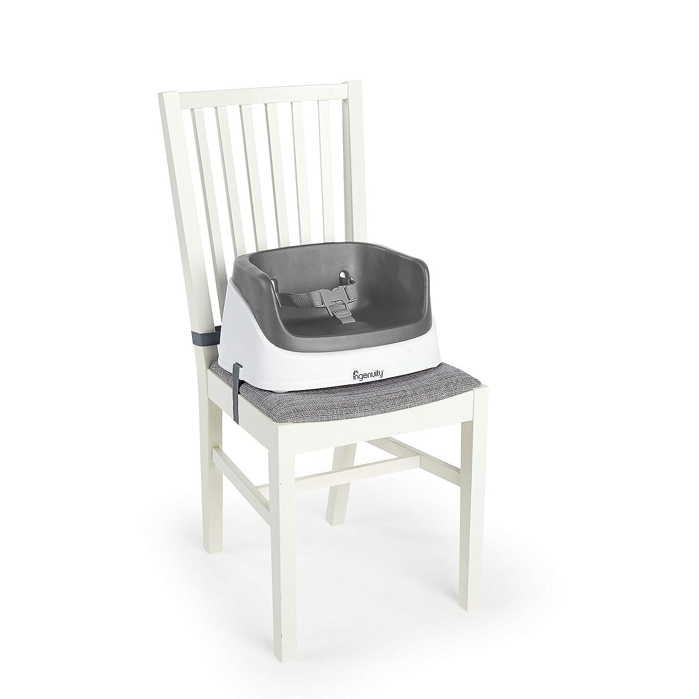 ideal f/ür unterwegs geeignet schiefer Ingenuity Sitzerh/öhung und Kleinkindsitz leicht zu reinigen Dreipunktgurt f/ür mehr Sicherheit