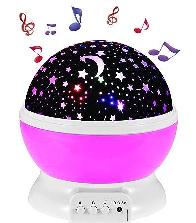 Amazon.com: Enkman Update Night Light Projector, Baby Sleep Sound ...