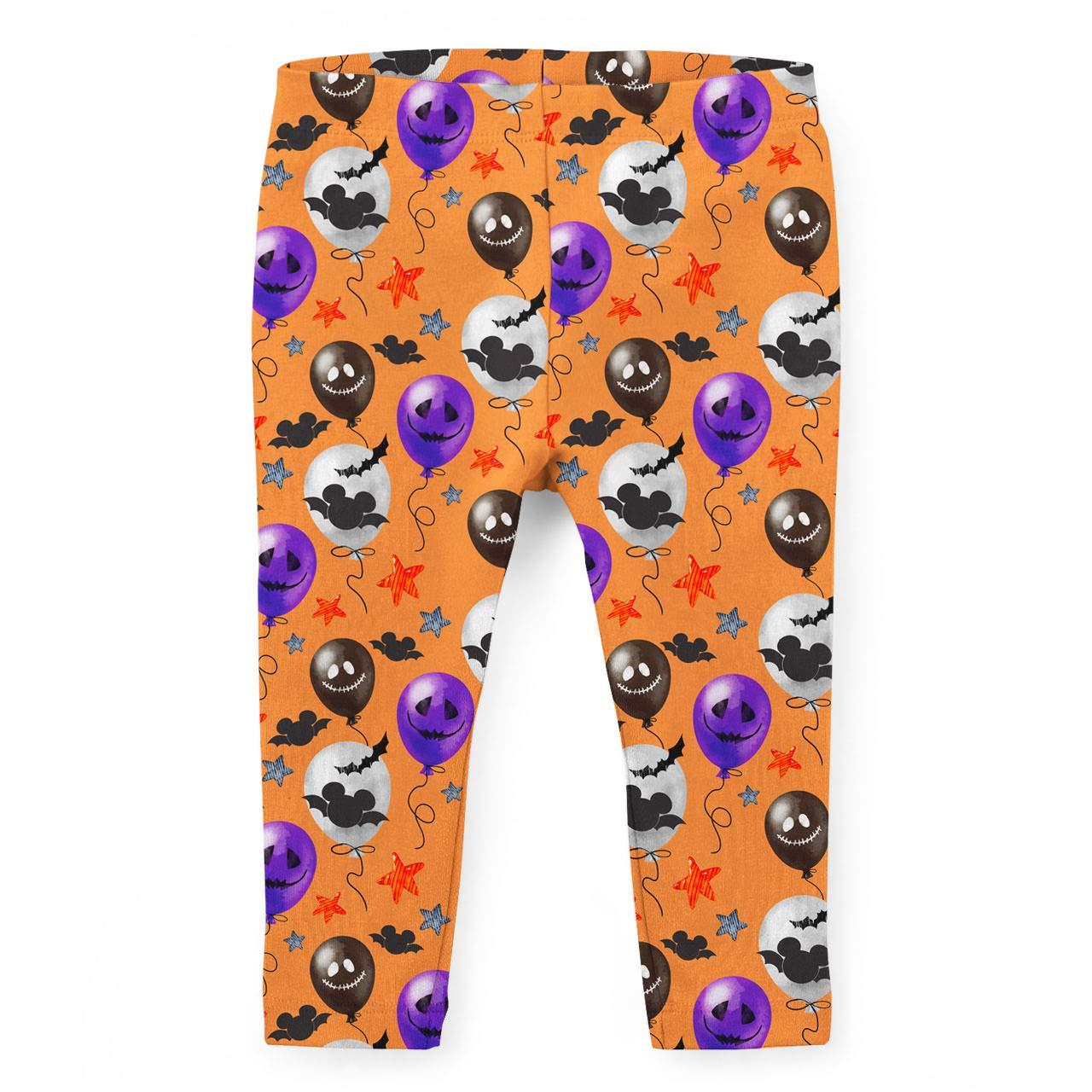 Halloween Mickey Bats /& Balloons Disney Inspired Kids Leggings