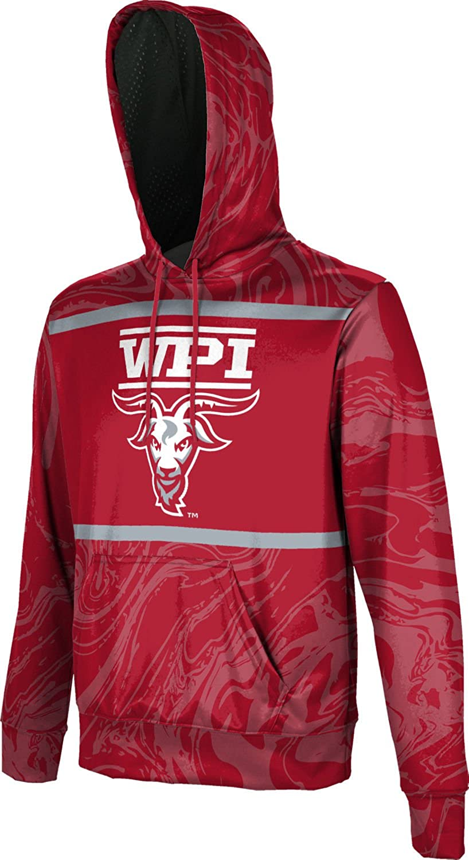 Ripple School Spirit Sweatshirt ProSphere Worcester Polytechnic Institute University Mens Pullover Hoodie