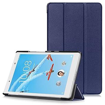 Lenovo Tab 4 8 Funda - Funda Carcasa Ultra Delgado y Ligero con Cubierta de Soporte para Lenovo Tab 4 8 (TB-8504F) Tablet de 8