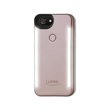 LuMee Duo, Carcasa Duo para Apple iPhone 6/6S/7 Plus, Color Rosa Mate