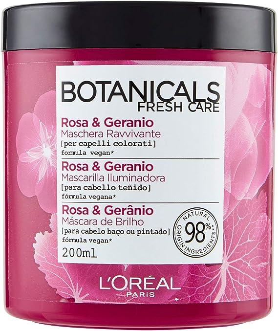 LOreal Paris Botanicals Mascarilla Remedio de Brillo, para cabellos opacos o teñidos - 200 ml