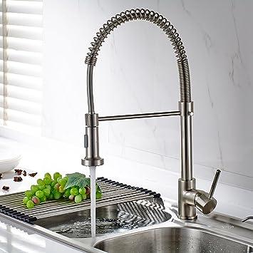 Timaco Wasserhahn Küche Einhandmischer für Küchen Spüle ...