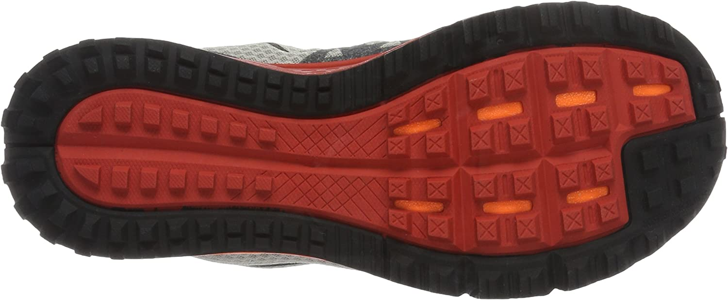 Nike Men's Air Zoom Wildhorse 3 Running Shoes Multicolor Light Iron Ore Red Reef Total Orange Black