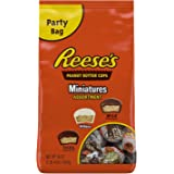 REESE'S Peanut Butter Cup Miniatures Assorted Chocolate, Easter Egg Filler Candy 36 oz
