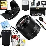 Sony (SEL28F20 ) FE 28mm F2 E-mount Full Frame Prime Lens + 64GB Ultimate Filter & Flash Photography Bundle