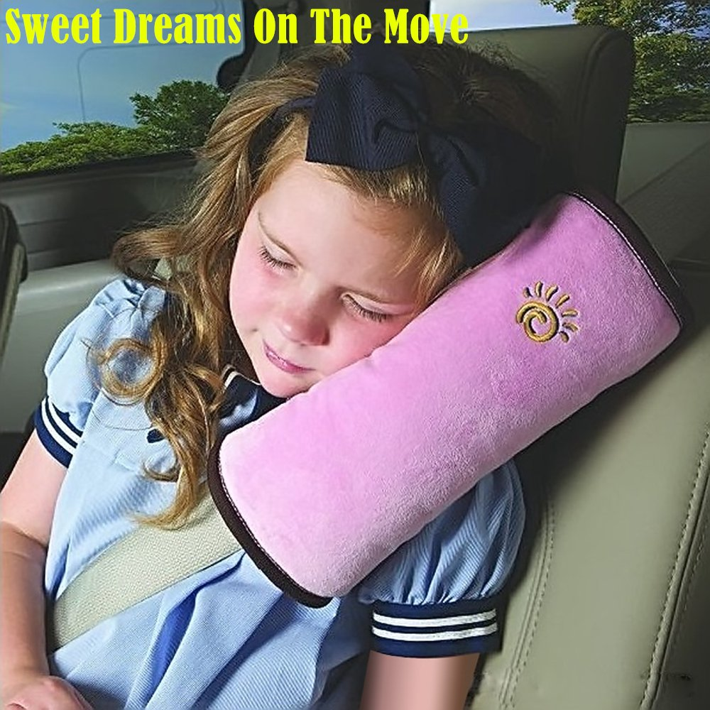 1pc High Practicability Multifunctional Baby Car Seat Belt Cushion of Car Playpens Headrest Pillow for Baby Kids Seat Belt Pad Cover