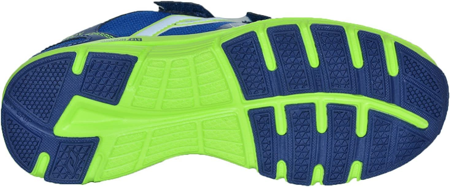 Intersport Pro Touch Zapatillas de Run oz Pro V Velcro Jr – D. Azul/Verde Lima: Amazon.es: Deportes y aire libre