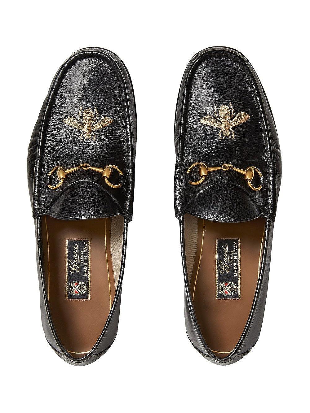 GUCCI - Mocasines Hombre, negro (negro), 42.5: Amazon.es: Zapatos y complementos