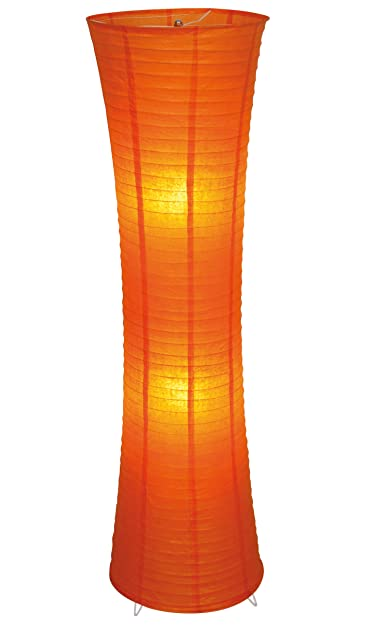 Decorative 2 light floor lamp shade colour orange amazon decorative 2 light floor lamp shade colour orange mozeypictures Images