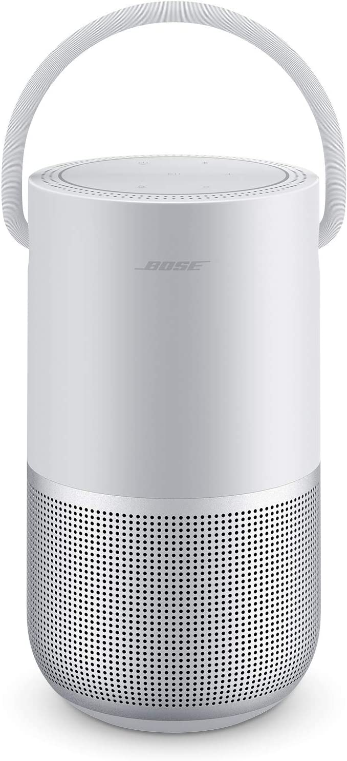 Bose Portable Smart Speaker — with Alexa Voice Control Built-In, Luxe Silver