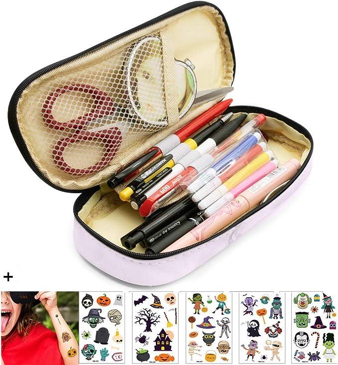 SPECOOL Grandes Capacidad Estuche para lápices,Bolsa De Lápiz La Pluma Estuches Adecuado para Escuelas y Oficinas Para Niñas y Niño (rosado): Amazon.es: Oficina y papelería