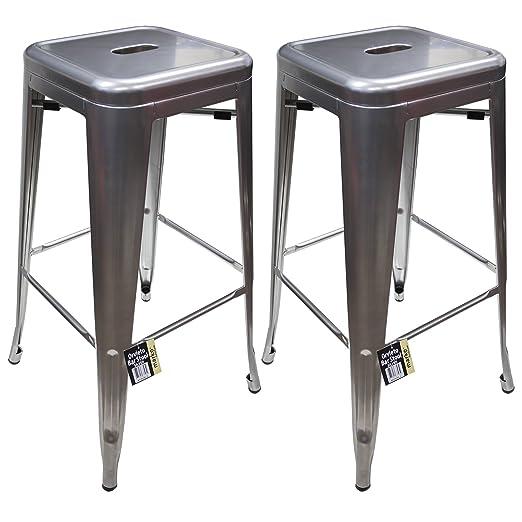 breakfast bars furniture. Marko Furniture Metal Breakfast Bar Stool Seat Chair Industrial Vintage Classic Style Kitchen (2, Red): Amazon.co.uk: \u0026 Home Bars Y