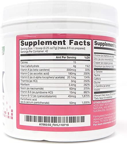 AdvoCare Spark Canister Fruit Punch 10.5 Ounce