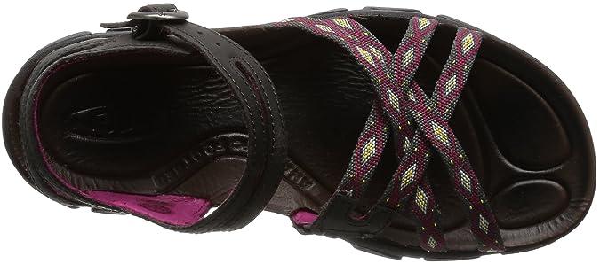 KEEN Womens Uneek 8MM Sandal Violett/Tiger Lily 35.5 B(M) EU/3 B(M) UK
