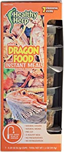 Healthy Herp Adult Dragon Food Instant Meal 7 x 0.20 Ounce (5.7 Grams) Cups