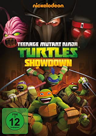Teenage Mutant Ninja Turtles - Showdown Alemania DVD: Amazon ...
