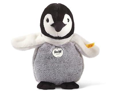 Amazon Com Steiff Flaps Baby Penguin Stuffed Animal With Soft Woven