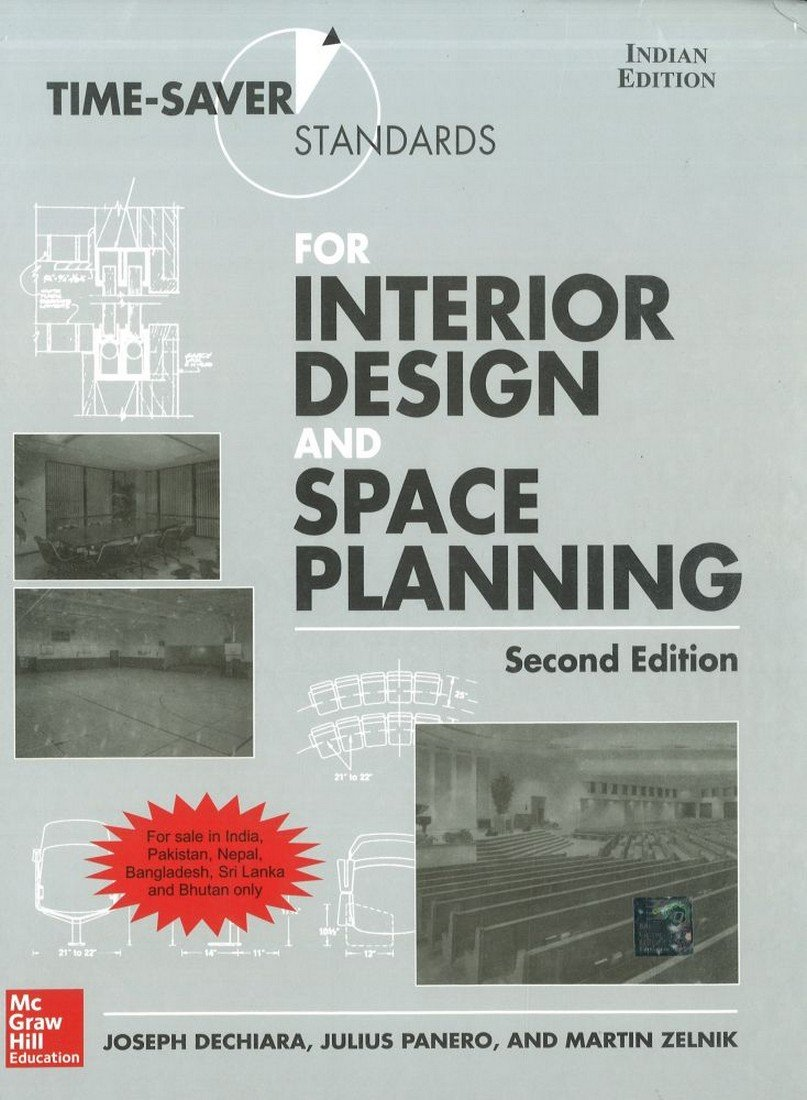 Time Saver Standards For Interior Design And Space Planning 2nd Edition Joseph Dechiara 9781259004094 Books Amazon Ca