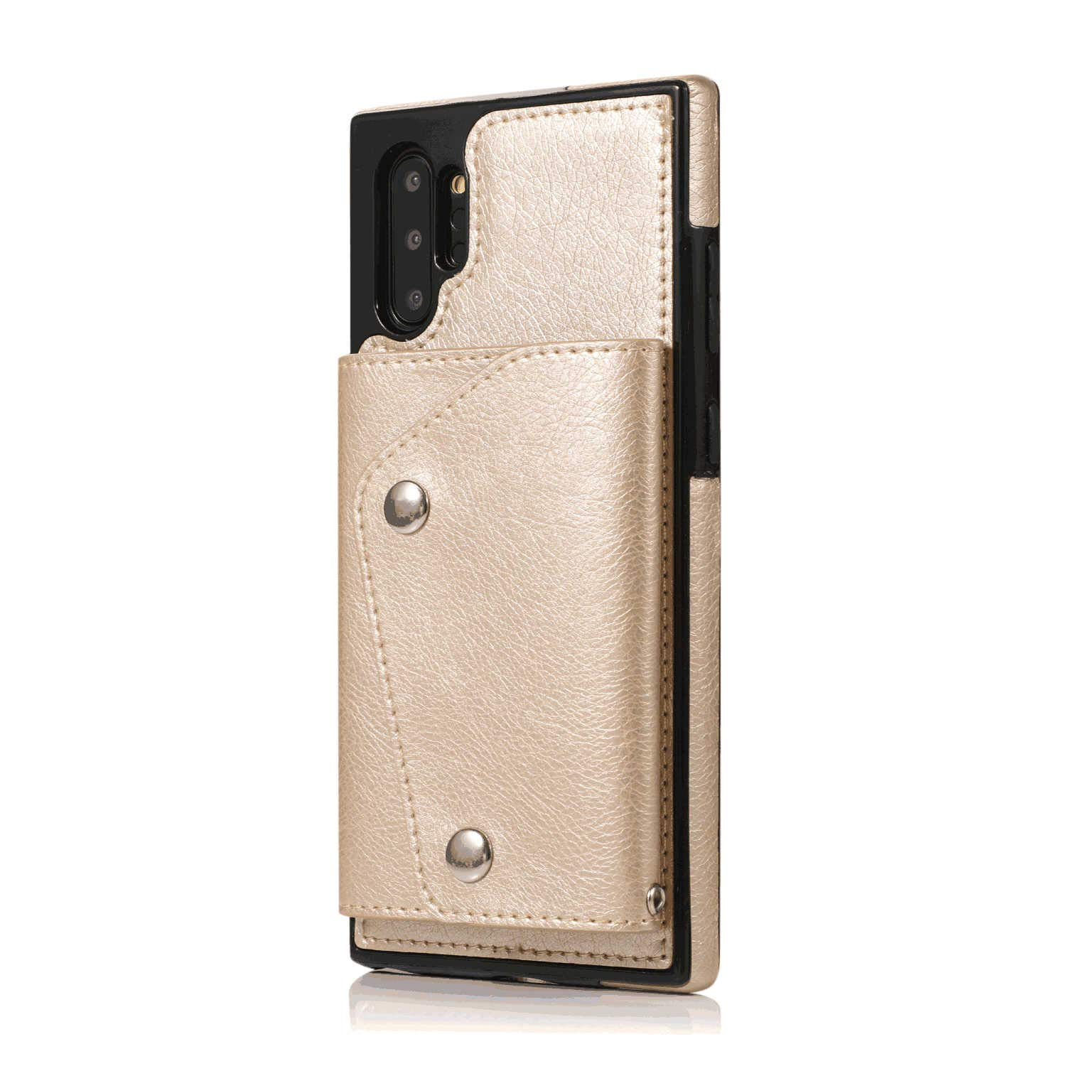 Leather Case for Samsung Galaxy S10 Plus Flip Cover fit for Samsung Galaxy S10 Plus Business Gifts with Waterproof-case Bags