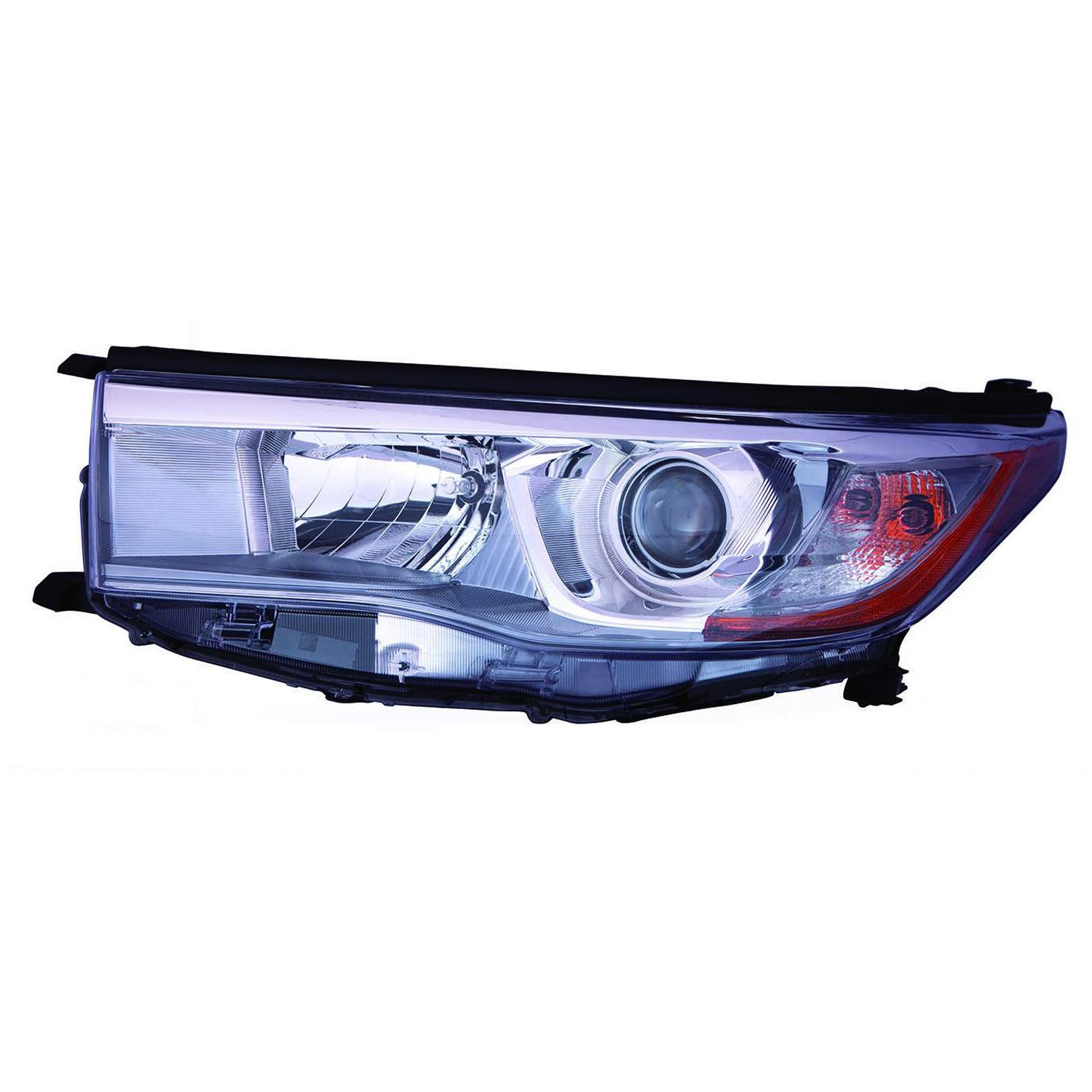 Multiple Manufacturers TO2502225C Partslink TO2502225 OE Replacement Headlight Assembly TOYOTA HIGHLANDER 2014-2015