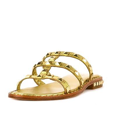 Pop Cuir Femme 36 Sandales Or Ash Footwear En Chaussures Ariel QdrCBtshxo