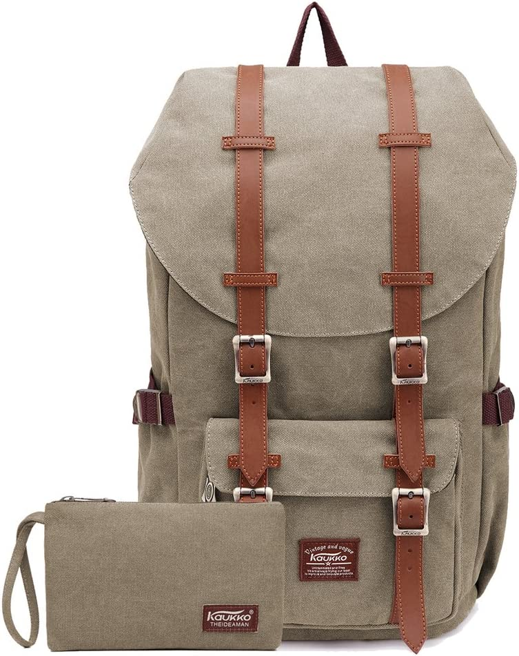 KAUKKO KAUKKO Rucksack Studenten Backpack 17 Zoll für 15