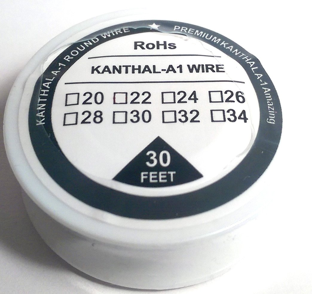Kanthal A1 30 AWG Widerstand Draht – 0,25 mm (30 AWG) – 30 ft ...