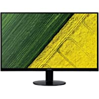 Acer SA0 SA220A 21.5-Inch FHD IPS Ultra-Thin Zero Frame Display Monitor, AMD Free Sync, 75Hz Refresh Rate, Black