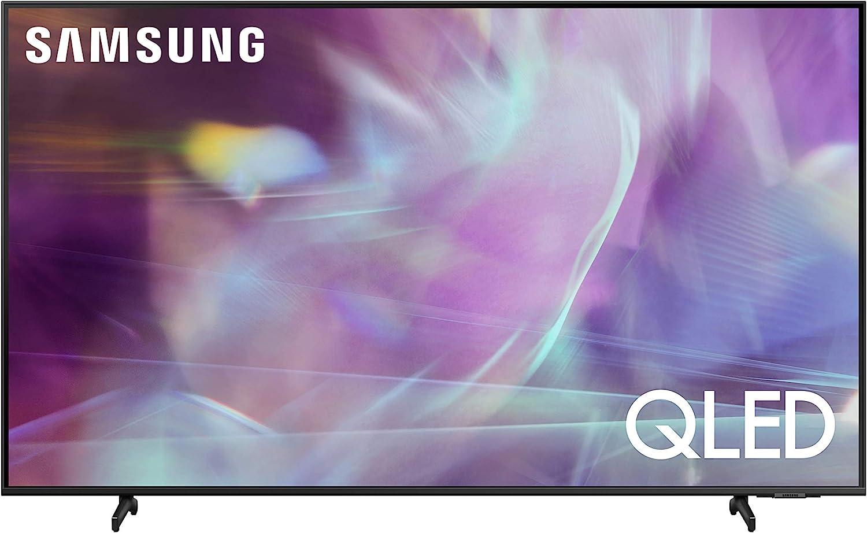 SAMSUNG (QN85Q60AAFXZA) 85″ 4K QLED UHD Dual LED Quantum HDR Smart TV with Alexa