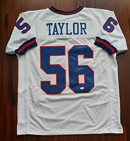 low priced b3aa9 b0166 Lawrence Taylor Autographed Signed Jersey New York Giants ...