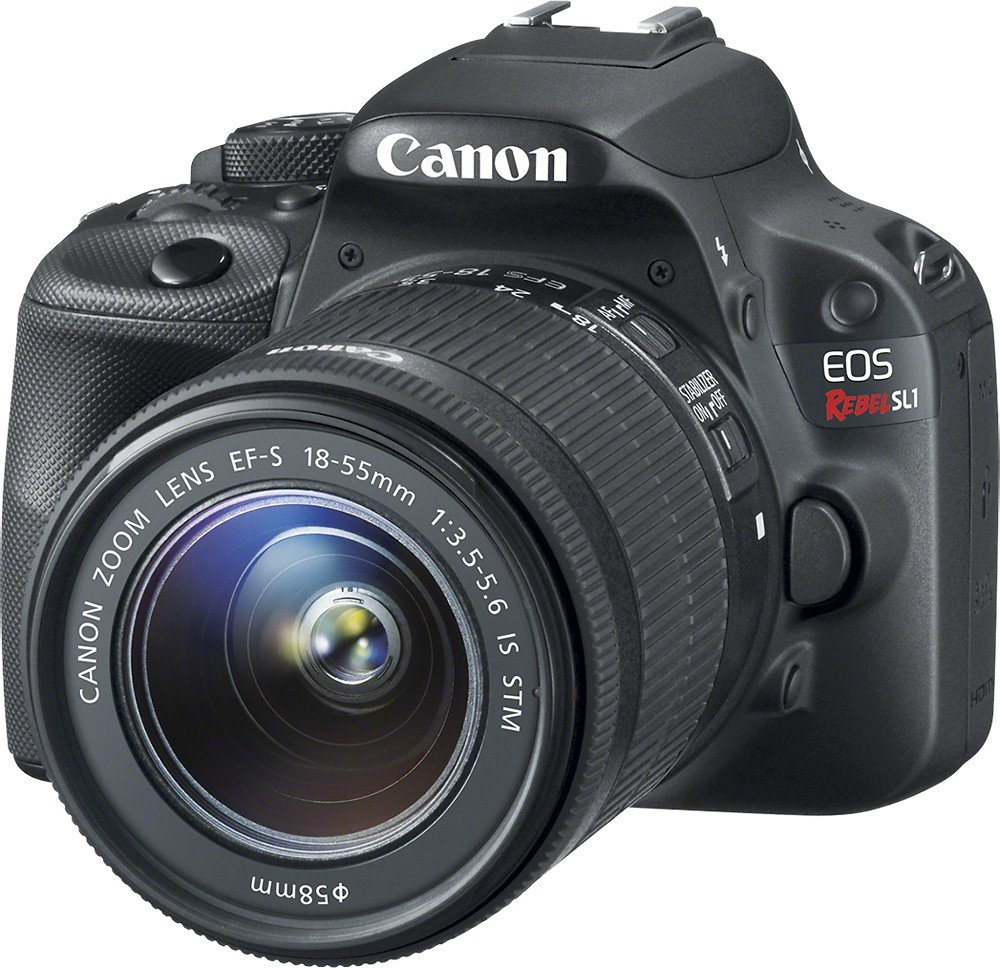 Canon EOS Rebel SL1 Digital SLR with 18-55mm