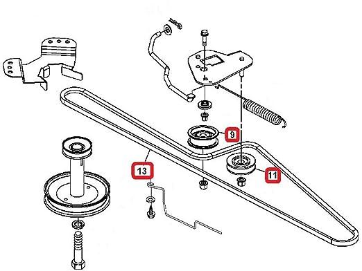 La125 Idler Arm Diagram
