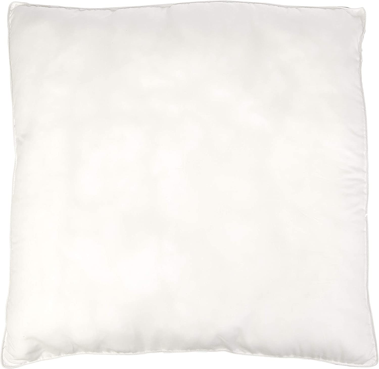 Kissen mit Kunstdaunen-F/üllung 2 x 80 x 80 cm 2 St/ück//Set Basics