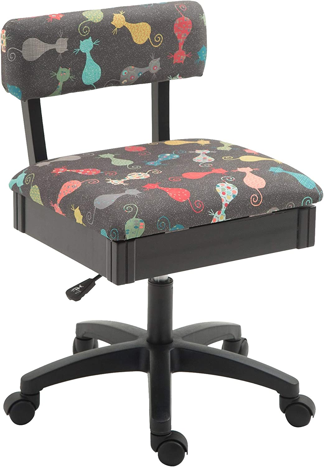 Arrow H6103 Adjustable Height Hydraulic Sewing and Craft Chair